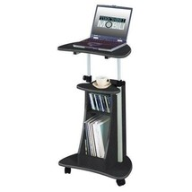 Graphite Gray Laptop Desk Table Stand Notebook Computer Mobile Portable ... - $89.09