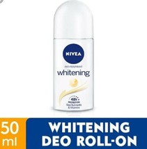 NIVEA Deodorant White Roll On 50ml -48h anti-perspirant Protection and g... - $15.83