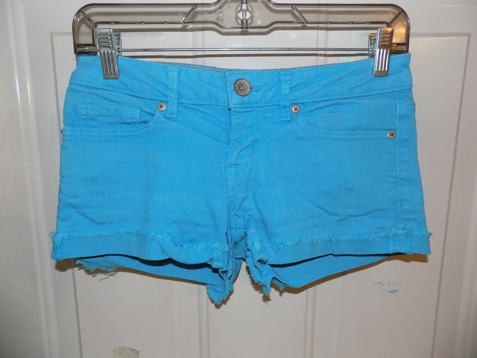 Primary image for AEROPOSTALE BLUE SHORTS SIZE 1/2 WOMEN'S EUC