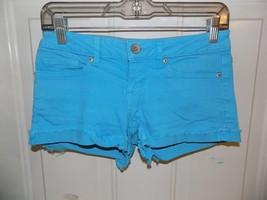 AEROPOSTALE BLUE SHORTS SIZE 1/2 WOMEN'S EUC - $16.20