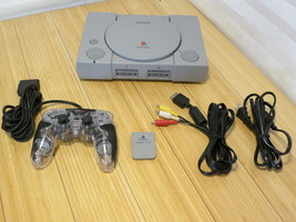 Sony PlayStation 1 PS1 SCPH-7501 Bundle, Tested & Working - $37.04