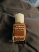 Neutrogena SkinClearing Liquid Makeup, Chestnut 135 1 oz NEW - $9.89
