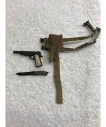 Predators Royce Pistol, Holster Belt, Combat Knife Set 1/6th MMS 131 - H... - $29.02