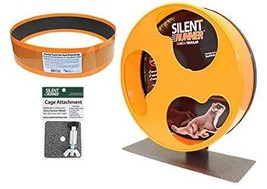 "Exotic Nutrition Silent Runner 12"" Regular Wheel + Sandy Track + Cage At... - $48.99"