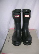 Hunter Mens Short Rain  Boots  Side Buckles  Size 8 - $74.79