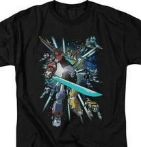 Voltron t-shirt retro 80s animation The Mighty Robot anime graphic tee DRM333 image 3