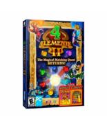 4 Elements II with Bonus Atlantis Quest & Brickshooter Egypt - $9.60