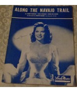 Vintage Sheet Music - Along The Navajo Trail - 1945 Edition - VGC - Larr... - $5.93