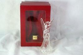 Mikasa Heavenly Music Crystal Angel Ornament - $10.79