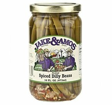 Jake & Amos Pickled Spiced Dilly Beans, 16 Oz. Jar (Pack of 2) - $22.72