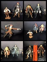 Disney Pirates of the Caribbean Lot of 5  Figures Jack, Will, And Elizabeth - $8.90