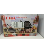 T-Fal 17pc Simply Cook/Prep and Cook Set (Red, Non Stick Pan/Pot) *Pleas... - $102.50