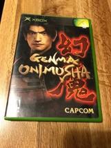 Genma Onimusha (Microsoft Xbox, 2002) COMPLETE - $9.89