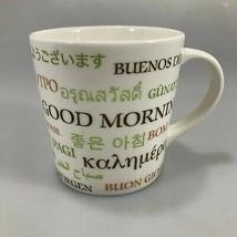 Starbucks Good Morning Multi Language 16 oz Coffee Mug 2007  - $27.93