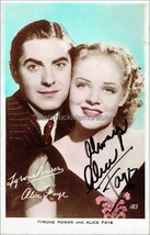 Alice Faye Autograph *Hello, Frisco, Hello* Hand Signed 5x3 Vintage Phot... - $52.50