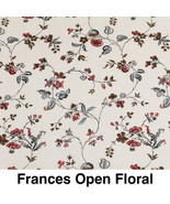 Fabric frances open floral  thumbtall