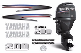 Yamaha 200 HPDI Sticker Decals Outboard Engine Graphic 200hp Sticker USA MADE - $74.20