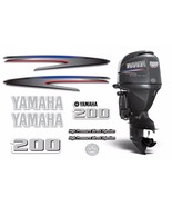 Yamaha 200 HPDI Sticker Decals Outboard Engine Graphic 200hp Sticker USA... - $74.20