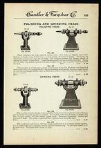 Polishing Grinding Heads Goodell-Pratt Co. MA 1919 Ad - $12.99