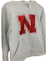 Adidas NCAA Nebraska Cornhuskers Hoodie Sweatshirt Size Small - $21.45