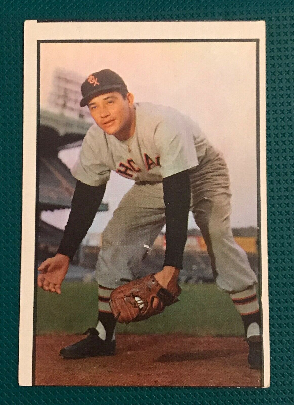 Primary image for 1953 Bowman Color #54 Chico Carrasquel Chicago White Sox Baseball Card