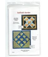 1999/Daffodil Garden/Quilt Pattern/UNCUT - $3.99
