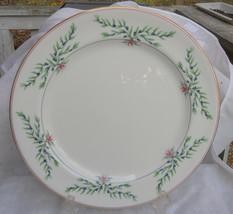 ROYAL WORCESTER OLIVIA BONE CHINA CHOP PLATE PLATTER ENGLAND BLUEBERRIES... - $69.29