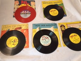 5 Peter Pan  78 RPM Records with Sleeves - $14.84