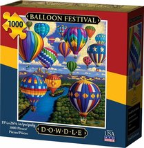 BALLOON FESTIVAL - Traditional Puzzle - 1000 pieces