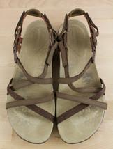 Merrell Jacardia Dark Earth Slingback Flats Sport Sandals Women's Size 10  - $24.99
