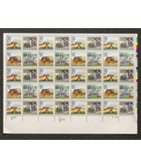 Universal Postal Congress, Sheet of 25 cent stamps, 40 stamps total - $13.50