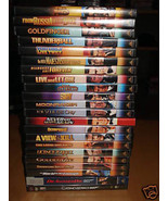 JAMES BOND SPECIAL EDITION - 21 DVD COLLECTION w/ ALL RARE EXTRA FEATURE... - $99.88