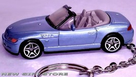 RARE! KEY CHAIN RING BLUE BMW Z3 CONVERTIBLE ROADSTER NEW CUSTOM LIMITED... - $38.98