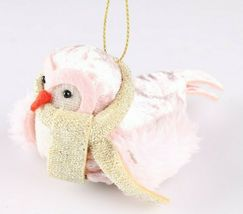 Set of 2 Birchwood Bay Fabric Bird Christmas Ornament Target Wondershop 2018 New image 4