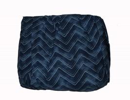 Ralph Lauren INDIGO MODERN HERRINGBONE Chevron King Bedskirt NIP MSRP $1... - $44.99