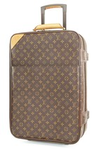 Authentic LOUIS VUITTON Pegase 55 Monogram Canvas Travel Rolling Suitcas... - $1,178.10
