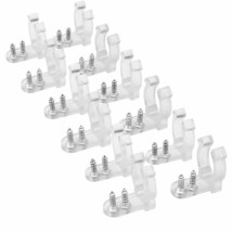 Apoulin Led Rope Light Clips Holder – 100Pack 1/2 Inches Clear Pvc Mount... - $13.76