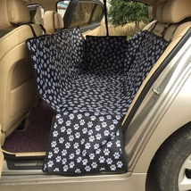 Oxford Fabric Paw pattern Car Pet Seat Covers Waterproof Hammock - $29.49