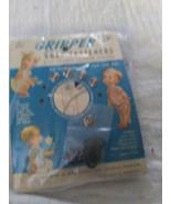 Vintage 1950 Gripper Snap Fasteners  Sz. 15 for Thinner Fabrics No sewing Tap on - $2.47