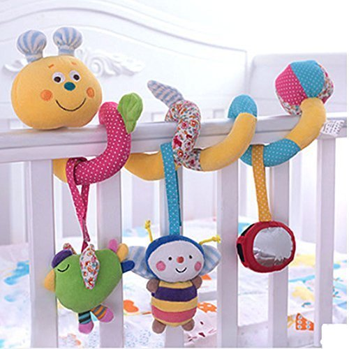Cute Worm Baby Toy & Bed Hanging & Cribs Decors