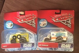NEW UNOPENED Disney Pixar Cars 3 Racers Vehicle Arvy And Dr Damage 2cars - $21.77