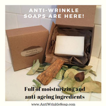 Anti-Aging Soap | Anti-Wrinkle Natural Soap | Handmade Soap Wrinkle Reducer  - $10.00