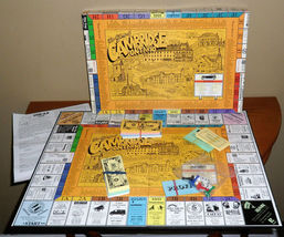 "Vintage The ""GAME of CAMBRIDGE"" Board GAME~Fundraising By G & J IDEAS~Co... - $20.00"