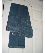 Lee Blue Jeans Slender Secret Lower On The Waist  Size 8 Medium - $16.00