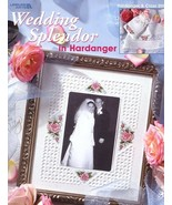 Wedding Splendor in Hardanger Cross Stitch PATTERN/INSTRUCTIONS/NEW Leaflet - $4.47