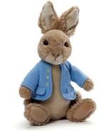 Peter Rabbit Gund Plush Bunny Stuffed Animal Jacket 9 IN Kids Adult Chil... - $21.66