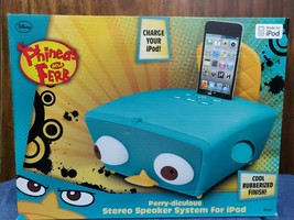 e-Kids Disney Perry-diculous Stereo Speaker System for iPod - Phineas an... - $19.91 CAD