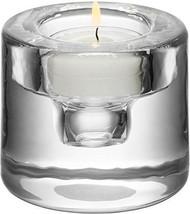Kosta Boda Shine Crystal Votive, Silver #6340163 - $54.40