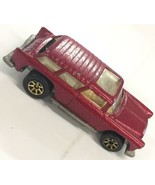 1969 Hot Wheels Redline Chevy Nomad Red USA Vintage Malaysia  - $280.49