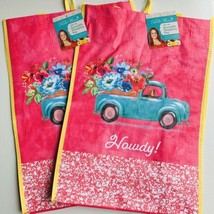 The Pioneer Woman Reusable Shopping Bag Pioneer Truck Tote (2 Pack) - $12.86